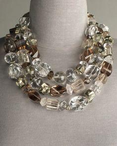 Stephen Dweck crystal necklace