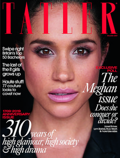 Meghan Markle, Duchess of Sussex, will grace the cover of Tatler just weeks after the magazine dubbed her 'social climber of the year'. Jennifer Beals, Jasmine Sanders, Keri Russell, Maggie Smith, Kristen Bell, Miranda Lambert, John Legend, Celine Dion, Kate Hudson