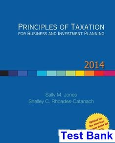 Principles of managerial finance brief 7th edition solutions manual test bank for principles of taxation for business and investment planning 17th edition by jones fandeluxe