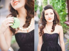 Senior portrait session with Meg Sexton Photography. Styling by Kaella Lynn Events. Makeup by Lisa  Hair by Julie with Primp Salon  Rentals from Amanda with One True Love Vintage Rentals