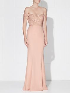 ELANA GOWN - DUSTY PINK – LOVE HONOR®