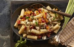 How to Make Tomato and Mozzarella Pasta #ScratchCookbook