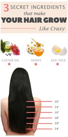 Grow long hair for summer.