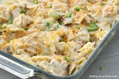 Jalapeño Popper Chicken Casserole - Eating on a Dime Skip the Pasta and try adding more Jalapeños and other Peppers? Easy Freezable Meals, Freezable Casseroles, Easy Freezer Meals, Make Ahead Meals, Easy Dinners, Freezer Recipes, Freezer Cooking, Weeknight Dinners, Crockpot Recipes