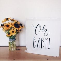Cutest Baby Shower Gift Bag EVER! -$10