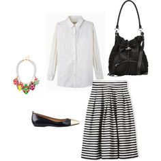 """""""First Day Back Outfit"""" by whattheteacherwears on Polyvore"""