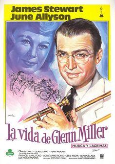 Música y lágrimas (1953) Glen Miller fue uno de los más famosos músicos de jazz…