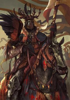 Bretonnian Lord by Lorenzo Nuti - Your Daily Dose of Amazing beautiful Creativity and Digital Art - Fantasy Characters: Archers Assassins Astronauts Boners Knights Lovers Mythology Nobles Scholars Soldiers Warriors Witches Wizards Fantasy Battle, Fantasy Armor, High Fantasy, Lord Knight, Knight Art, Medieval Knight, Medieval Fantasy, Dnd Characters, Fantasy Characters
