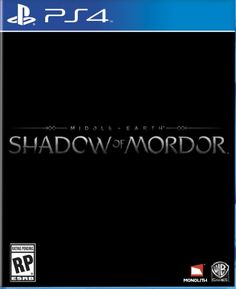 Middle Earth: Shadow of Mordor - PlayStation 4 - http://battlefield4ps4.com/middle-earth-shadow-of-mordor-playstation-4/