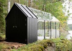 Finnish Garden Shed and Bedroom Retreat...OMG