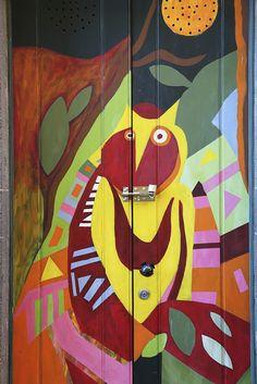 Funchal old town. Art of doors. More pics: http://walleni.us/olisiko-tama-mahdollista-suomessa/