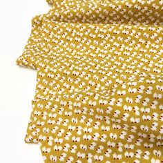 Sew Over It, Viscose Fabric, Yellow Background, Ditsy, Hot Days, Keep Your Cool, Dressmaking, Trousers, Mary