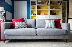 How to Change the Legs on an Ikea Karlstad Sofa