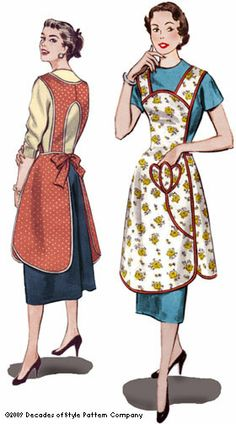 like the back of the apron, that keeps the bib from strangling your back neckline
