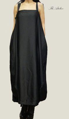 Hey, I found this really awesome Etsy listing at https://www.etsy.com/listing/185337511/black-kaftanasymmetrical-tunicmaxi-black