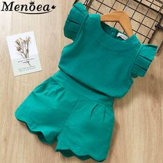 Kids Girls Clothing Sets Summer New Style Brand Baby Girls Clothes short Sleeve T-Shirt+Pant Dress Children Clothes Suits - My favorite children's fashion list Tutus For Girls, Kids Outfits Girls, Baby Outfits, Short Outfits, Kids Girls, Baby Girls, Infant Girls, Girls Dresses, Girls Clothing Brands