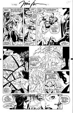 Uncanny X-Men 275 page 47 Comic Art