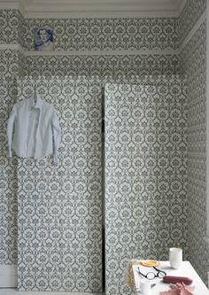 Revive a wardrobe - 10 ways with wallpaper