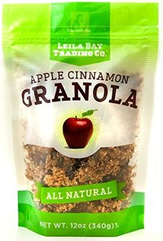 Leila Bay Trading Company Apple Cinnamon Granola 12Ounce Pouches Pack of 3 *** Details can be found by clicking on the image.