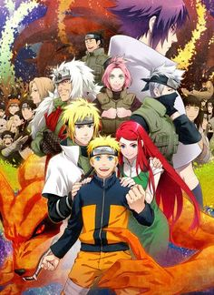 the gang  Naruto