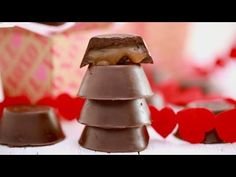 Caramel Filled Chocolates for Valentine's Day! - YouTube