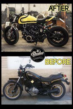 Shaka Garage Bari: Before > After