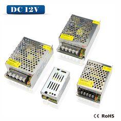 110V 220V to DC 12V 1A 2A 3A 5A 10A 15A 20A 30A LED driver Switch Power Supply Adapter lighting Transformer For LED Strip Light