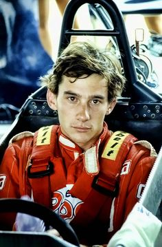 Ayrton Senna - Formula 3 years | Even then you could see the determination.