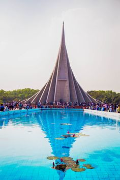 https://flic.kr/p/PaVyus | National Martyr's Monument | Jatiyo Smriti Soudho (Bengali: জাতীয় স্মৃতি সৌধ Jatio Sriti Shoudho) or National Martyrs' Memorial is the national monument of Bangladesh is the symbol in the memory of the valour and the sacrifice of all those who gave their lives in the Bangladesh Liberation War of 1971, which brought independence and separated Bangladesh from Pakistan