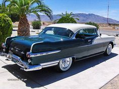 1956 Pontiac Star Chief 2 Door Coupe Repainted and Rebuilt Beauty – RonSusser…. – My CMS Classic Motors, Classic Cars, Pontiac Star Chief, Pontiac Chieftain, 1950s Car, Grand Chef, Pontiac Cars, Vintage Cars, Vintage Ideas