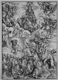 """""""The Beast with Two Horns Like a Lamb"""" Albrecht Dürer (1471-1528)"""