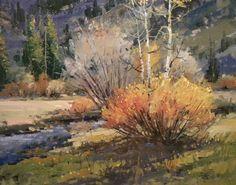 Autumns Touch, 16 x 20 oil