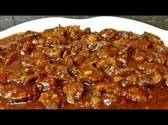 Mollejas de pollo en salsa - YouTube