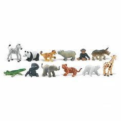 Plastic Miniatures In Toobs-Zoo Babies 12/Pkg - Join the Pricefalls family - Pricefalls.com Online Marketplace & Stores