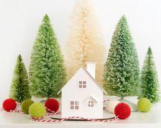 Putz House Ornament DIY Kit Christmas by HolidaySpiritsDecor