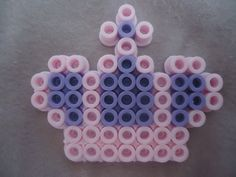 Mini Crown perler beads by *PerlerHime on deviantART