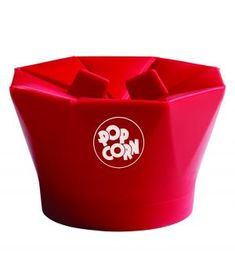 Constructed from heat-resistant silicone, this reusable gadget gives 'microwave popcorn' a new, healthier name. No need for oil–just fill with kernels and stick the whole thing in the microwave for up to ten cups of the crisp, fluffy snack.