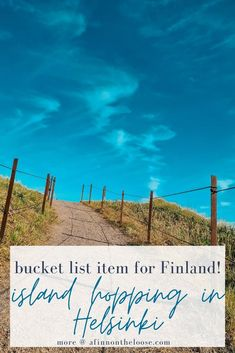 Do you want to have the most amazing day on your Helsinki visit? Then you must do the Helsinki island hopping tour! Save this on your bucket list! #helsinki #finland #suomi #travel City Break, Archipelago, Helsinki, Day Trips, Travel Guides, Fun Activities, Finland, Dreaming Of You, Bucket