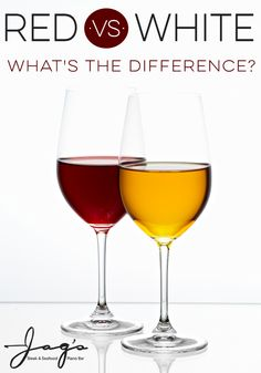 Red vs. White Wine: