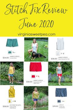 Stitchfix Reviews, Stylist Pick, Make Your Own Clothes, Pretty Green, Printed Shorts, My Favorite Color, Stitch Fix, About Me Blog, June
