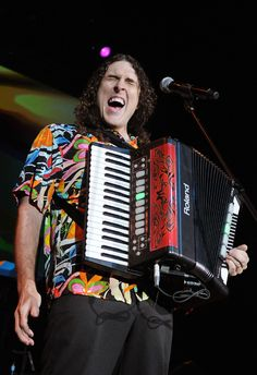 'Weird Al' Yankovic  He is what he is and resurfaces again and again.