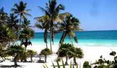 Mexiko Riviera Maya  Beach  at Sian Kaan