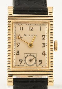 Vintage 1950 Men's Bulova ACADEMY AWARD 10k Gold Filled Hand-Winding Watch  #Bulova #Dress