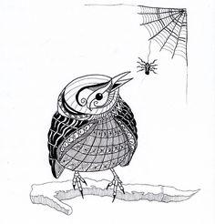 mijn inzending voor Ben Kwok van deze week          tja drie deze week...ik vond het een heel leuk vogeltje