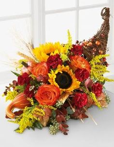 cornicopia flower arrangements | Do you want to make your Thanksgiving Holiday extra special this year?