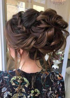 Coiffure De Mariage : Featured Hairstyle: Elstile; www.elstile.com; Wedding hairstyle idea....