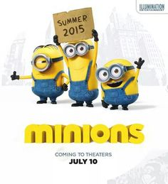 Minions Movie Summer 2015 OMG THEY'RE MAKING ANOTHER MOVIE GUYS ABOUT MINIONS!!!!