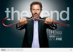House, M.D. : The End (S8 E22 Everybody Dies 2012 May 21) (Pilot S1 E1 2004 Nov 16)