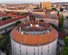 Narrenturm von oben - 2018 Woche 18, 1090 Wien Continental Europe, Heart Of Europe, Old Building, Vienna, Nature Photography, Tower, Exterior, Architecture, City