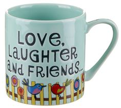 Love, laughter, happy ever after. Paint Your Own Pottery, Presents For Friends, O Love, Pottery Painting, Mug Cup, Laughter, Coffee Mugs, Plates, Ceramics